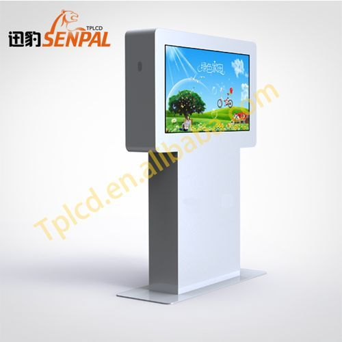 42 Inch Outdoor Advertising Kiosk Hydrographic Nano Super Hydrophobic