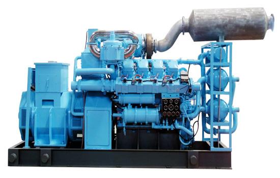 428rpm To 1500 Rpm Biogas Generator Biomass Gas