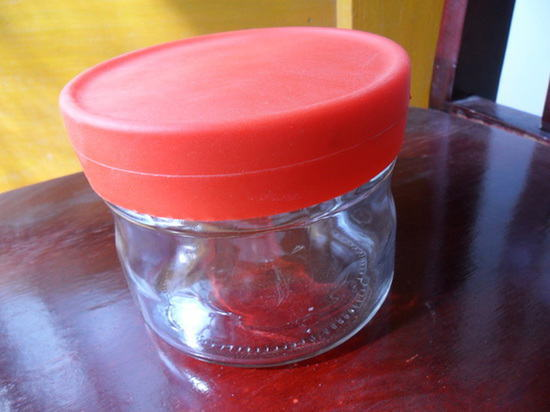 450ml High Quality Glass Jar Plastic Cap
