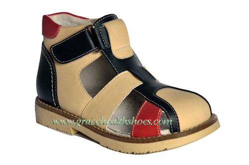 4611203 3 Orthopedic Shoes Constructed Of Leather Upper And Linging Sizes F