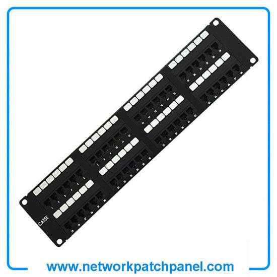48 Ports Utp Unshielded Cat5e Patch Panel