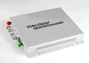 4channel Video Audio Fiber Multiplexer