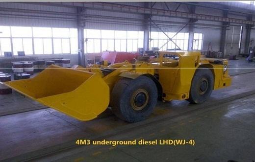 4m3 Diesel Lhd Scooptram Wj 4