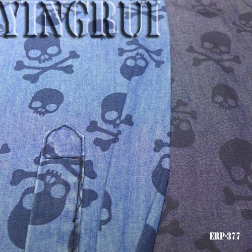4oz 100 Cotton Printing Satin Denim Fabric