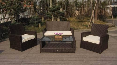 4pcs Garden Sofa Set