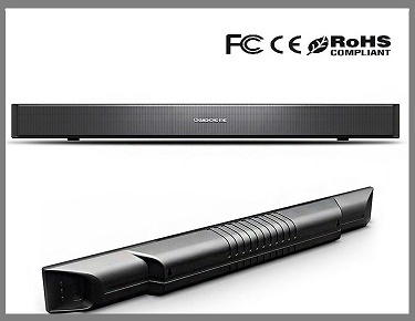 5 1 Bluetooth Tv Soundbar With Built In Subwoofer For Home Theater