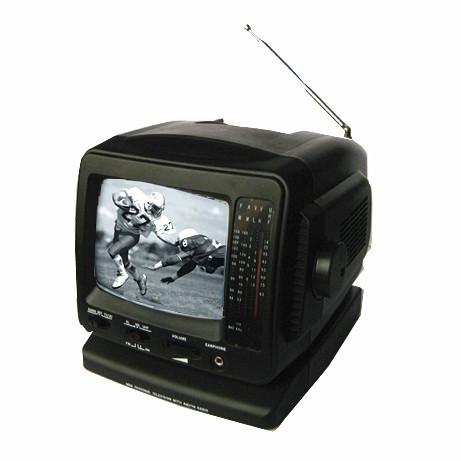 5 B W Tv With Am Fm Radio