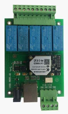 5 Channel Wifi Relay Module Board With Ethernet Port Mobilephone Remote Con