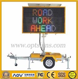 5 Color Led Full Matrix Portable Message Board