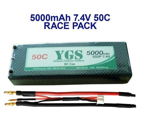 5000mah 7 4v 55c For Rc Car