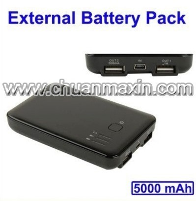 5000mah Dual Usb Power Bank
