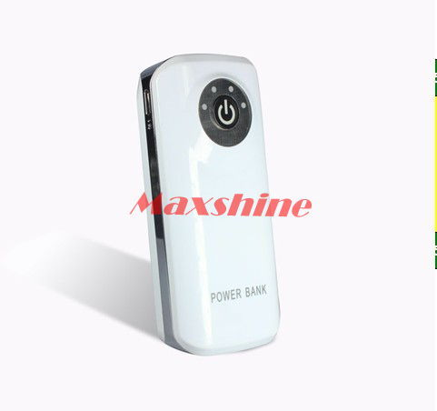 5000mah Portable Power Bank With Led Torch Mobile Battery