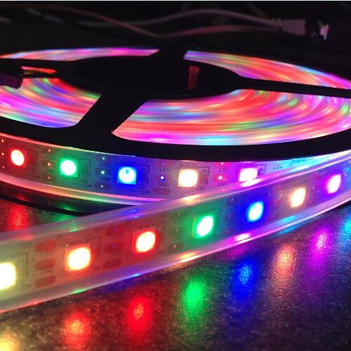 5050smd Rgb Ic Led Strip Light