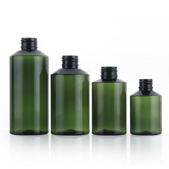 50ml 100ml 150ml 200ml Plastic Pet Cosmetic Bottle For Liquid