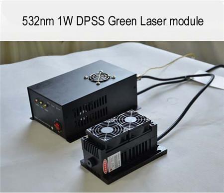 532nm 1000mw 1w 2w 3w 5w 1 Dpss Green Laser Module With Ttl Analogue Modula