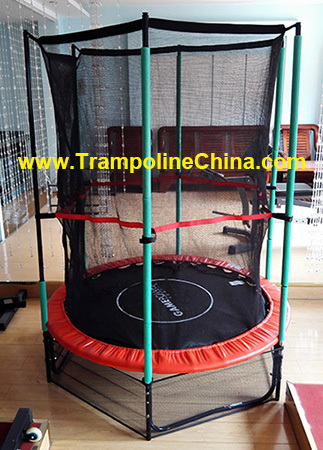55 Inches Trampoline Set