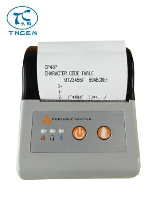 58mm Thermal Bluetooth Mobile Printer Tcmpt001a