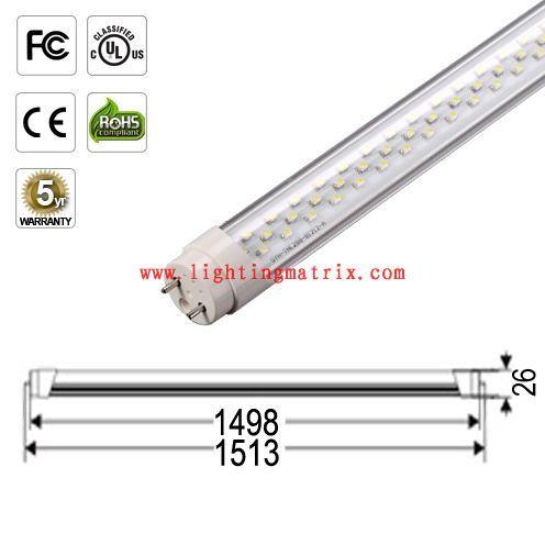 5ft Ul Certificate Led Tube Light G13 Double Pin Ac100 277v 25w 2180lm 50 0