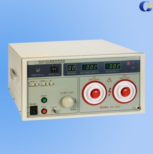 5kv Hipot Tester With 20ma Leakage Current