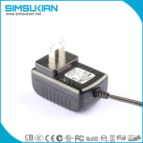 5v2a Charger Fcc Ul Approved Wall Adapter