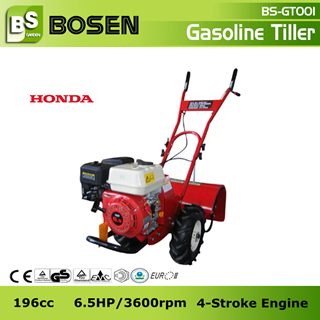 6 5hp Gasoline Power Rotary Tiller With Honda Engine