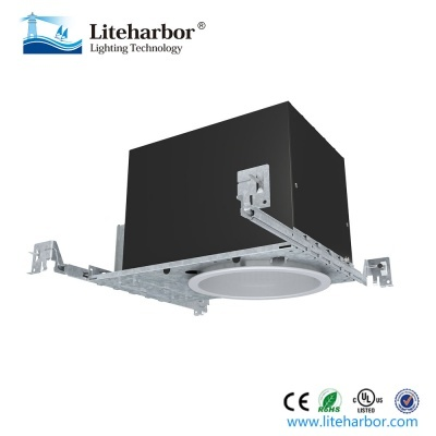 6 Inch New Construction Ic Airtight Slope Cob Recessed Housing