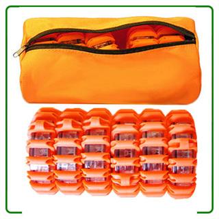 6 Pack Led Road Flares Bag Packed