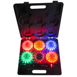 6 Packs Rechargeable Led Power Flares