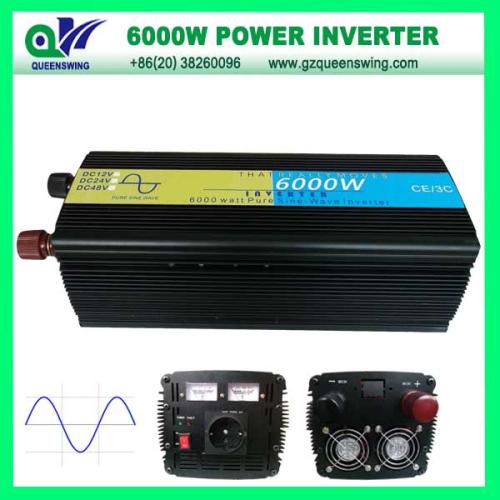 6000w Pure Sine Wave Power Inverter