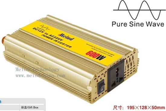 600w Power Inverter Pure Sine Wave Ac Converterpower Supply Converter Car C