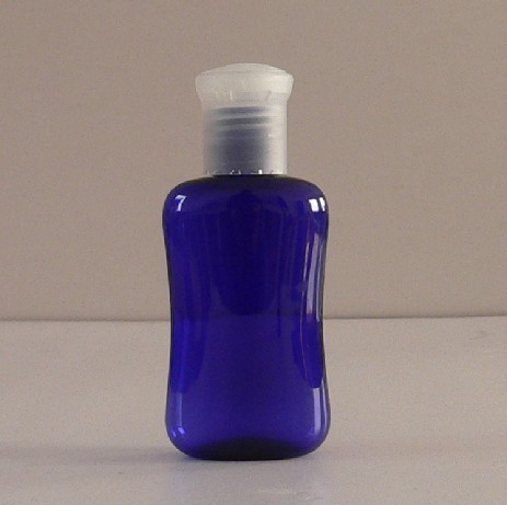 60ml Oval Plastic Bottle With Cap Empty Lotion Suppliers