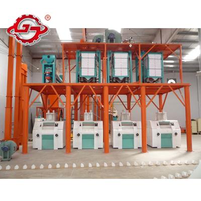 60t Maize Milling Machine Flour Equipment