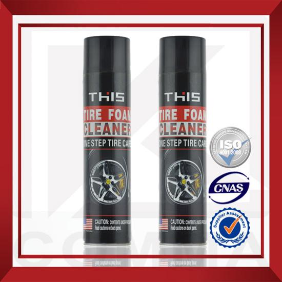 650ml Msds Perfect Polishing Effect Long Lasting Tire Foam Cleaner