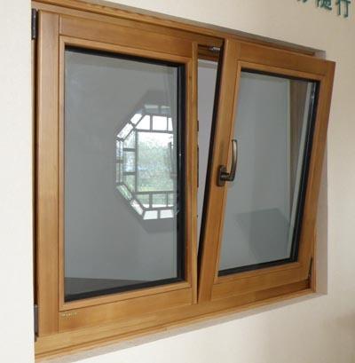 68 Series Wood Window Solid