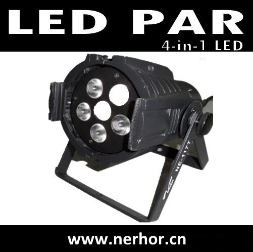 6pcs Rgbw 4in1 Led Pro Par Can Dj Stage Effect Light