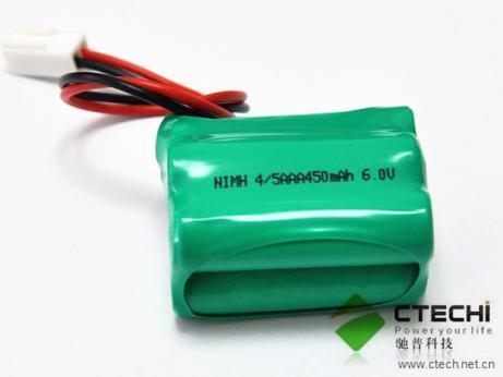 6v 450mah 4 5aaa Nimh Battery Pack