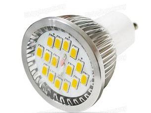 6w Gu10 5630 Smd Led Spot Lights
