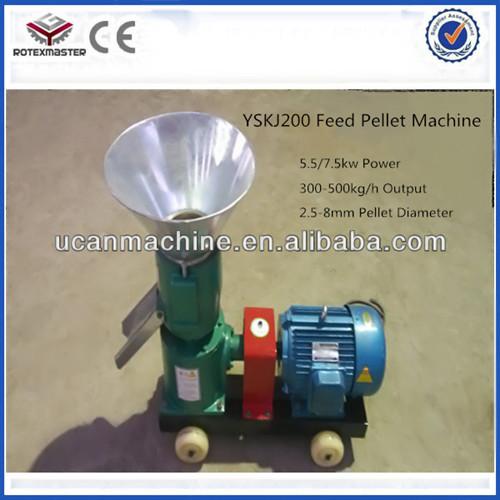 7 5kw Farm Machinery Sheep Feed Pelletizer Machine