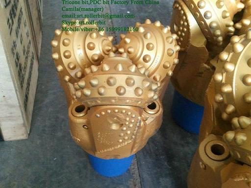 7 8 Tricone Roller Bit Iadc632 For Well Drilling