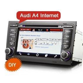 7 Audi A4 Special Car Dvd 3g Wifi Gps