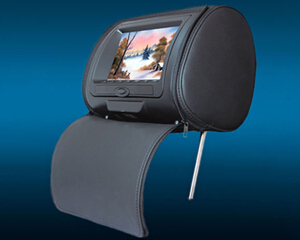 7 Car Headrest Dvd Player