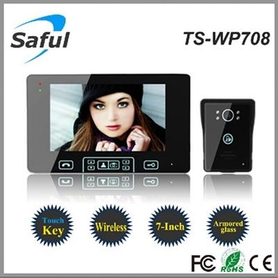 7 Inch 2 4ghz Digital Apartment Wireless Video Door Phone Intercom