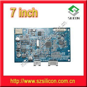 7 Inch Analog Tft Lcd Controlled Board