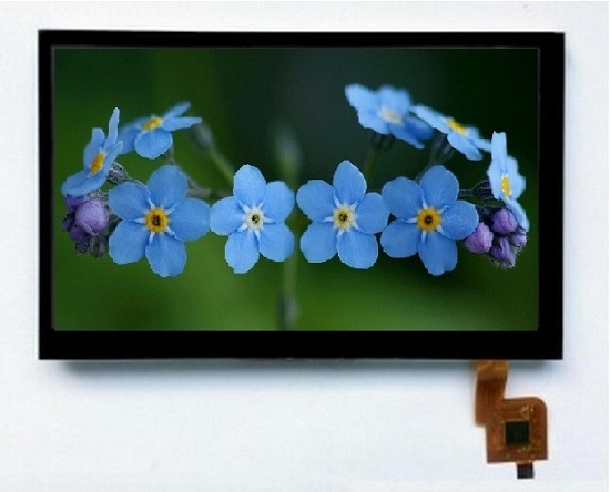 7 Inch Lcd Panel 800x480 Capacitive Touch Screen Video Phone Display