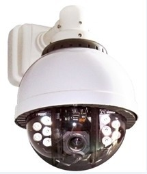 7 Ir Cctv High Speed Outdoor Security Dome Camera With Ptz