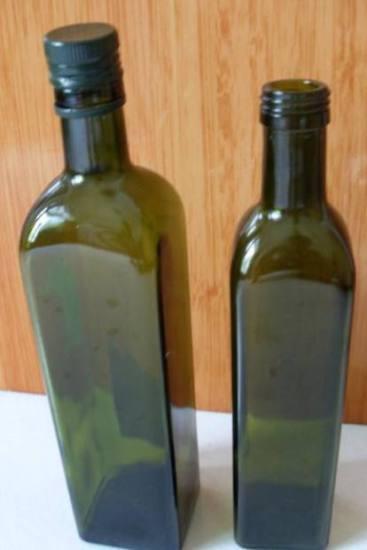 750ml 1000ml Dark Green Olive Oil Bottle