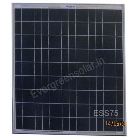75wp Solar Module Panel