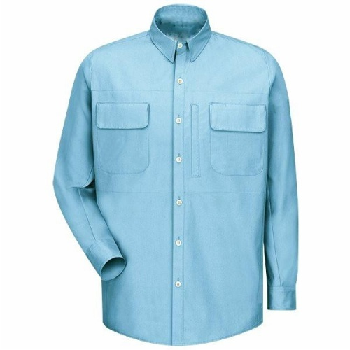 7oz Cotton Nylon Long Sleeve Flame Resistant Shirt