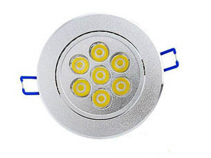 7w Dimmable Led Ceiling Panel Lights
