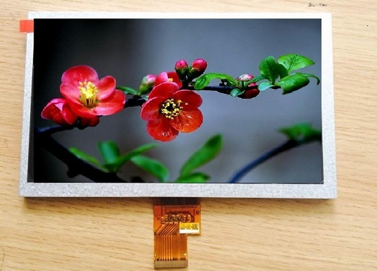 8 Tft Lcd Panel 1024 600 Car Digital Monitor Display